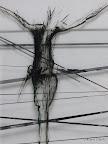 """""""Mensch"""", Glas, Schwarzlot, 2005/09"""