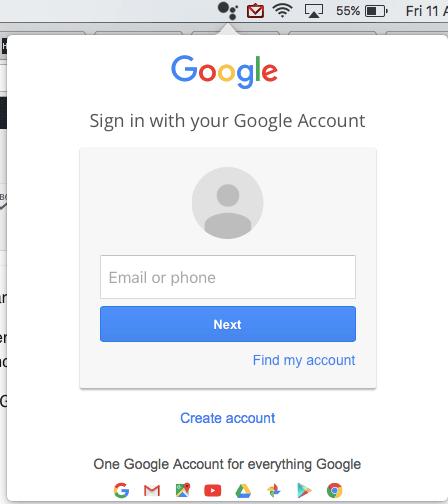 Mac assitstant google