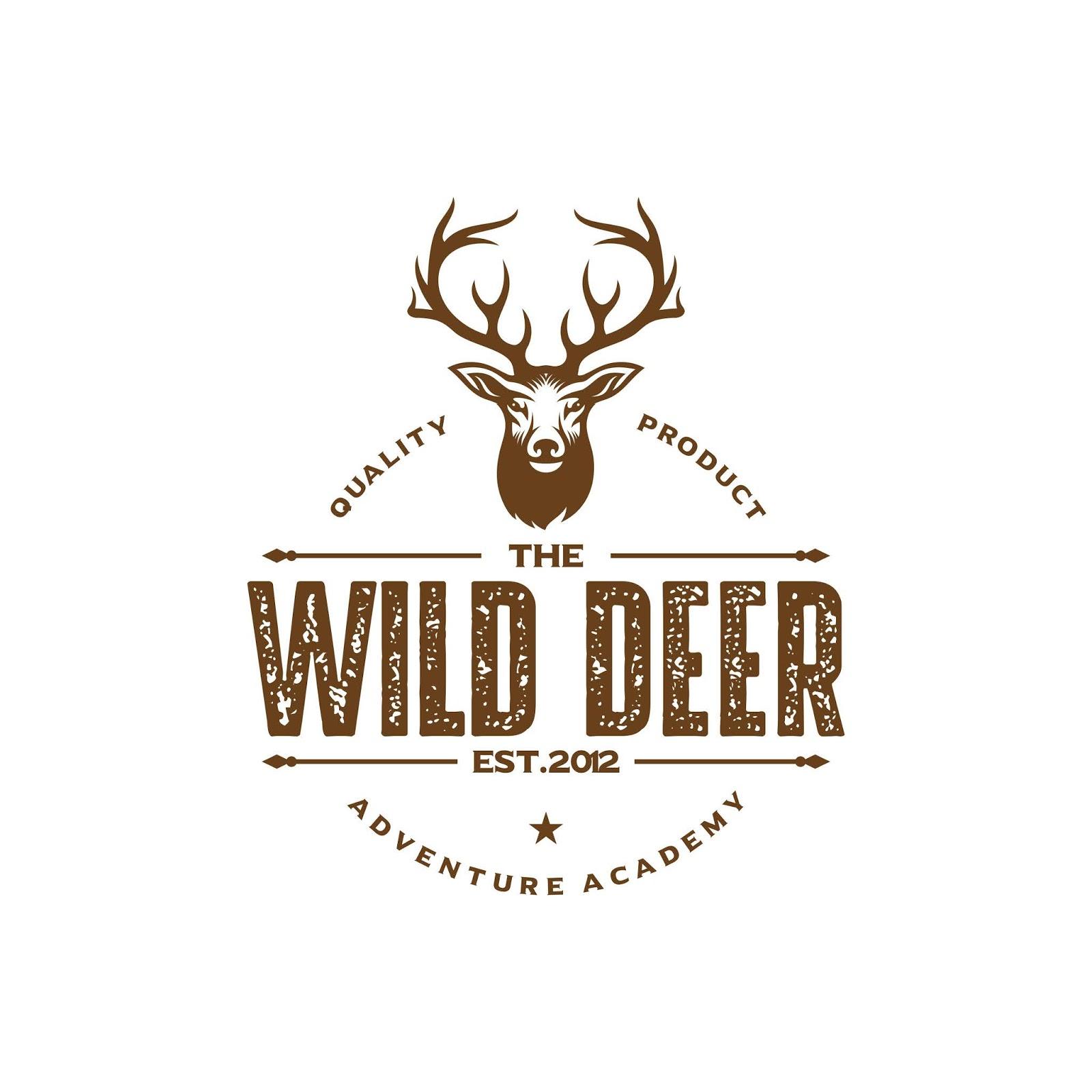 Vintage Deer Hunter Logo Design Free Download Vector CDR, AI, EPS and PNG Formats