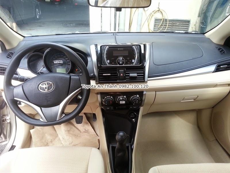 Bán Xe Toyota Vios 2015 Mới 1.5E Số Sàn Khuyến Mãi Giá Ưu Đãi 2