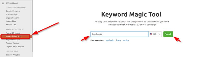 Related And Phrase Match Keywords