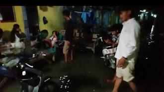 Akibat Air Laut Pasang, Puluhan Rumah di Tambaksari Tirtajaya Terendam (Video)