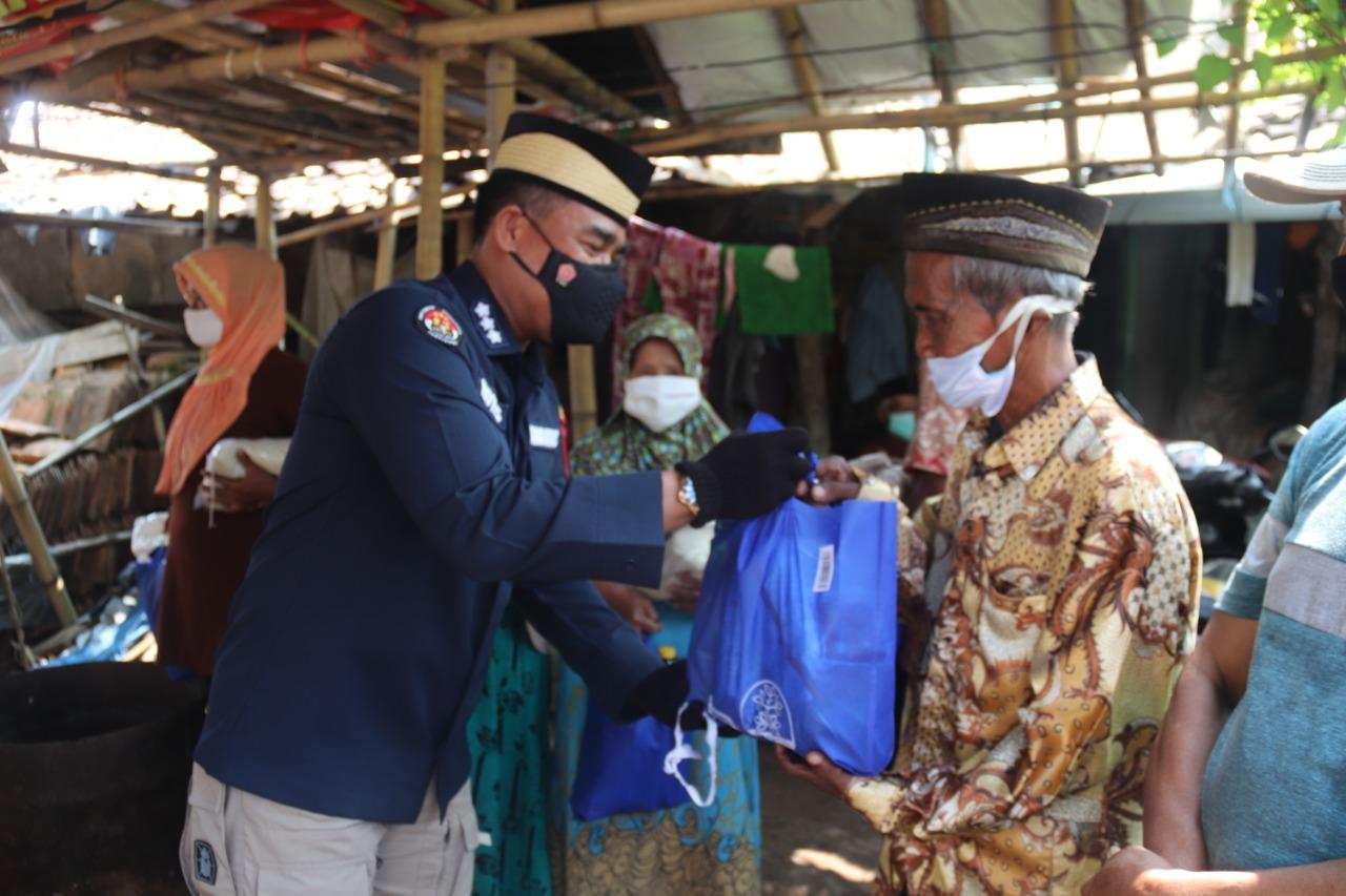 Dengan Haru, Sanusi Ucapkan Terima Kasih kepada Pak Polisi