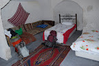 "One of our ""cave rooms"" in Cappadocia. They're not as cool as they sound: they can be a little musty, and one had bed bugs."