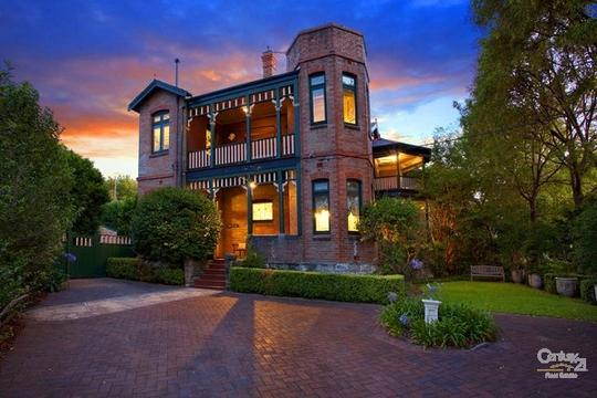 2 Woolwich Road, HUNTERS HILL at sunset