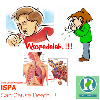 Ciri Ciri Penyebab Gejala Utama Penyakit Infeksi Saluran Pernapasan Akut (ISPA)