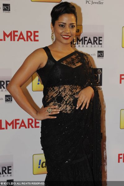 Shahana Goswami during the 58th Idea Filmfare Awards 2013, held at Yash Raj Films Studios in Mumbai.Click here for:<br />  58th Idea Filmfare Awards