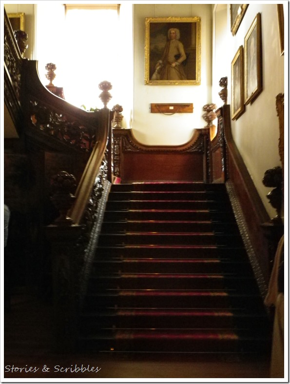 Dunster castle - Grand Staircase