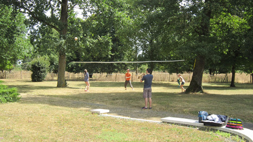 L'espace volley-ball, badminton