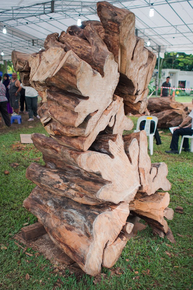 Wood Sculpture Symposium 2013