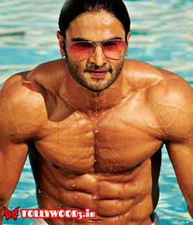 Sudheer babu six pack body