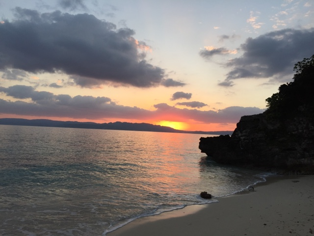 Sunrise over Kouri Island, Okinawa