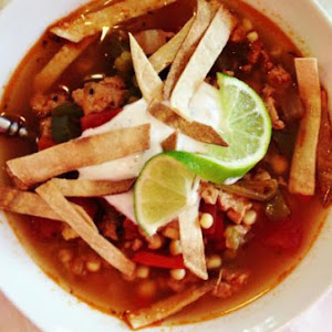 Mexican Chicken & Rice Soup