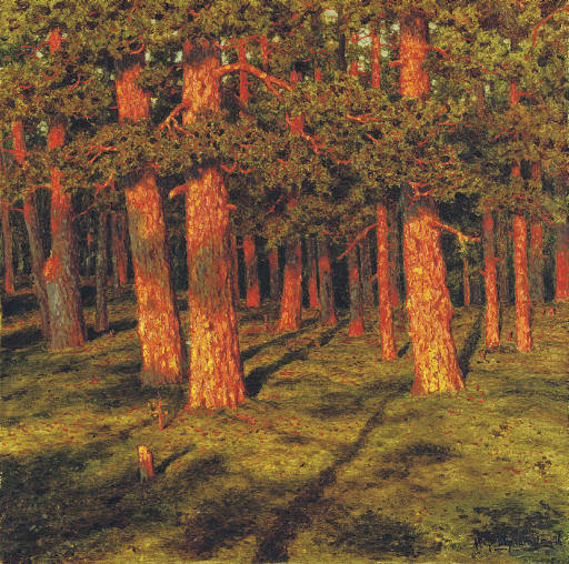 Ivan Fedorovich Choultse - Pine forest