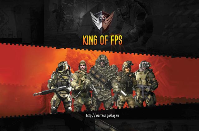Warface ra mắt giải đấu đầu tiên King of FPS 2