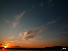 2009/10/10の夕景写真です。すっかり秋空模様ですね。