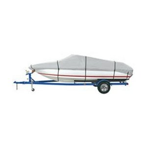 NEW VORTEX GREY 16 FT 16 FOOT HEAVY DUTY FISH//SKI//RUNABOUT BOAT COVER