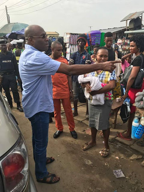 See What Lagos Commissioner Of Police Did After Meeting Heavy Traffic In Ikorodu «