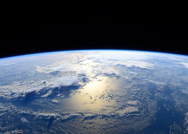 Hình ảnh sau khi một siêu bão Patricia đã tan được chụp từ ISS.