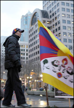 Self-Immolations in Tibet: Candle Vigil in Downtown Seattle - IMG_0016%2B1-28-12%2B72Cc%2BCandle%2BVigil.jpg