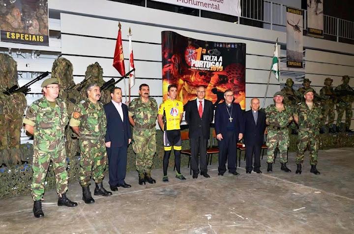 "Militares partiram de Lamego para a ""1ª Volta a Portugal de Bicicleta"""