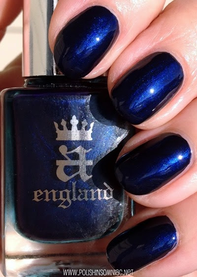 Best Blue Polishes of 2014 (aka Blue Swatch Spam)