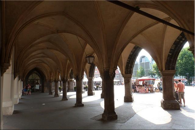 Soportales de Marktplatz - Lübeck