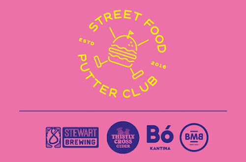 Street Food Putter Club, Glue Factory, Bo Kantina, Burger Meats Bun