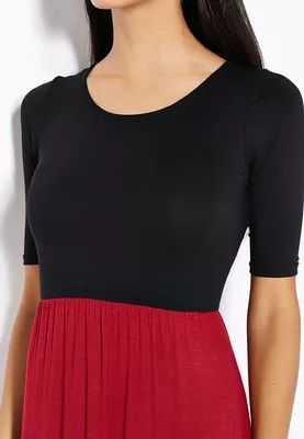 d1a58560e6cea المصدر   شراء فستان بنمط كتل الالوان ماركة جنجير من نمشى فساتين ... اقرأ  المزيد