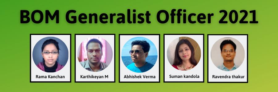 Bank of Maharshtra Generalist Officer 2021