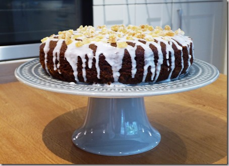 ginger and  apricot cake6