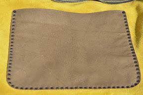 кожаная сумка ручной работы № 003 MШ Yellow olive