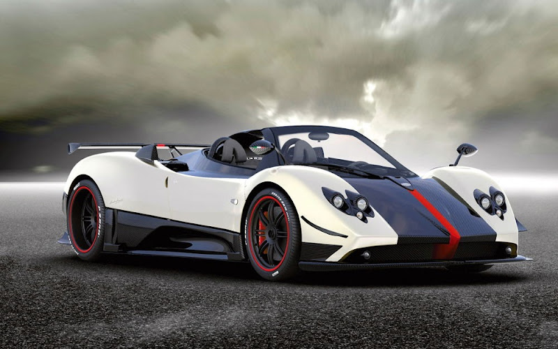 Pagani Zonda Cinque Roadster - Sports Car