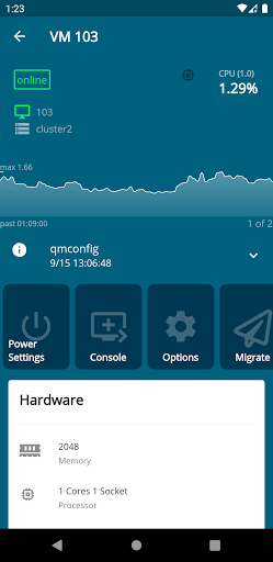 Proxmox Virtual Environment screenshot 4