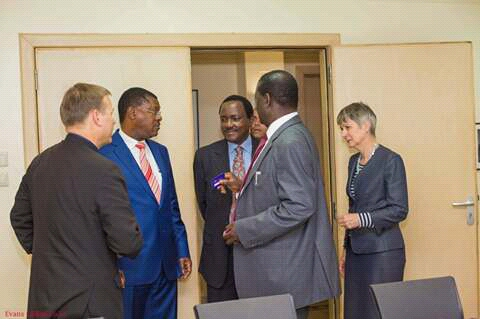 The influencial and richest man in Politics is Raila Amollo Odinga.
