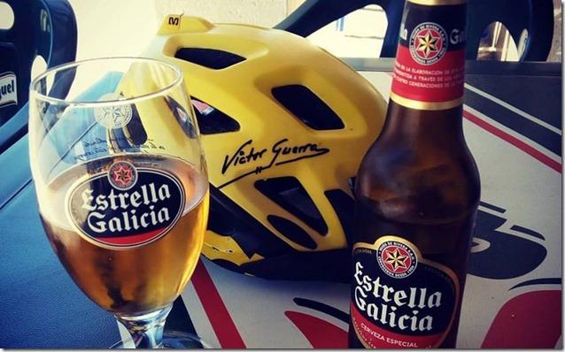 Estrella Galicia y Casco