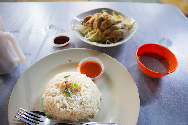 Nasi Ayam Taugeh Yan
