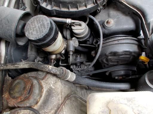 Perodua Kancil Engine Compartment