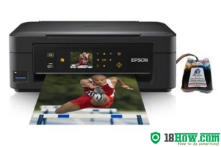 How to Reset Epson XP-402 lazer printer – Reset flashing lights error