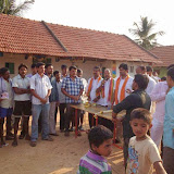Campaigning in Kallahalli