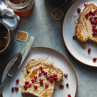 Tahini and Honey Toasts.