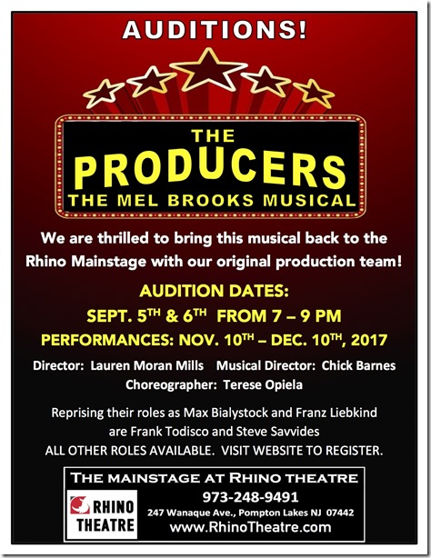 producers auditions