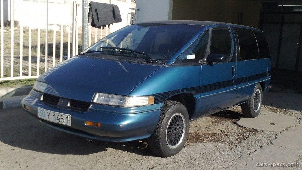 1991 Oldsmobile Silhouette Minivan