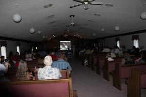 At Faith Apostolic Church, Holden, LA, sharing the good things God is doing in Ecuador.