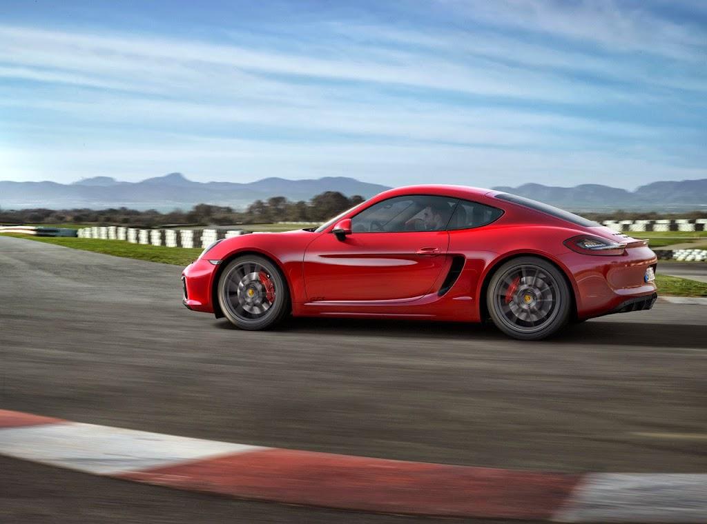 Porsche Cayman GTS 4