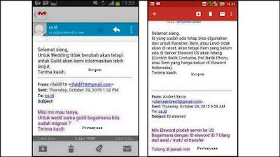 Sudah dipastikan dan tinggal menunggu waktu saja Elsword Indonesia akan berpindah  Tanggapan Pihak Netmarble Terkait Perpindahan Akun Elsword Indonesia ke Server US