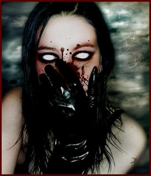Goth Blinded Girl, Gothic