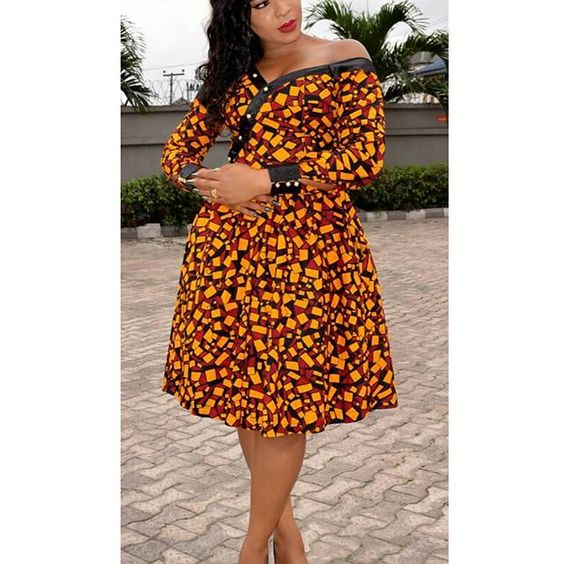 AFRICAN PRINT DRESSES STYLES FOR WOMAN 4