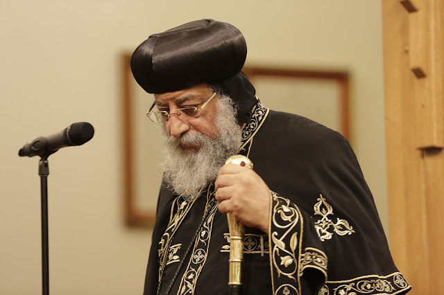 His Holiness Pope Tawadros II visit to St. Mark LA - _09A9106.JPG