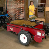Millcreek's Compact manure spreaders are 3- 7 inches lower than all other spreaders on the market, making them easy to load.